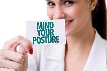 workplace ergonomics - mind your posture