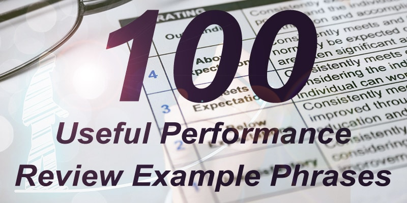 100 Performance Example Phrases Continued